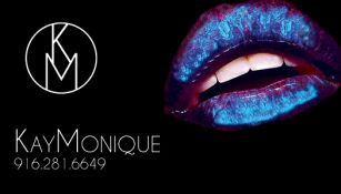 KayMonique Cosmetics • Business Card and Portfolio Packaging